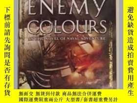 二手書博民逛書店《罕見Under Enemy Colours 》 【 Sean