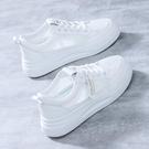 小白鞋女2021夏季新款百搭板鞋學生女鞋透氣薄款網面運動休閑網鞋