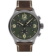 TISSOT天梭Chrono XL韻馳系列經典計時腕錶 T1166173609700 綠