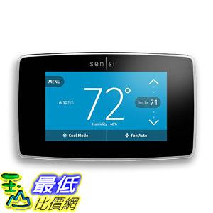 [107美國直購] 溫控器 Emerson Sensi Touch Wi-Fi Thermostat with Touchscreen Color Display for Smart Hom