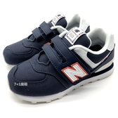 《7+1童鞋》中童 New Balance YV574SOP 復古 休閒 防滑 帆布 運動鞋 9505 藍色