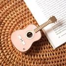 音樂盒 八門蟲社MINI吉他合金音樂盒八音盒創意男女生情人節禮物粉紅藍色 夢藝家