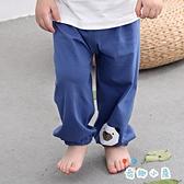 2條裝 兒童防蚊褲寶寶薄款男女童燈籠長褲純棉休閒睡褲【奇趣小屋】