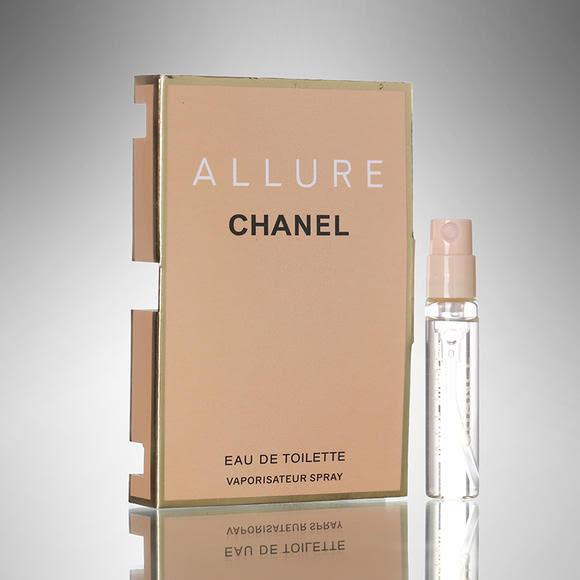 CHANEL ALLURE 香水 2ml 試管香水