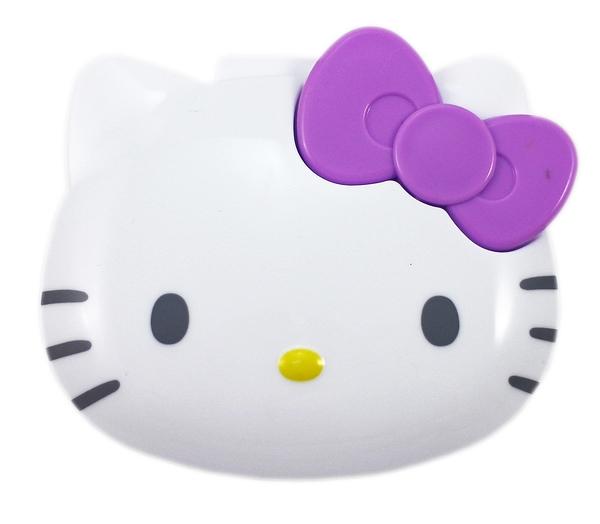 【卡漫城】 Hello Kitty 飾品 收納盒 紫 ㊣版 小物 置物盒 隨身盒 項鍊耳環戒指收納 塑膠盒 凱蒂貓