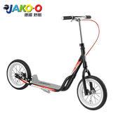 JAKO-O德國野酷-PUKY R07L平板式滑板車-黑