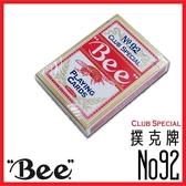 BEE 牌美國  撲克牌魔術撲克牌No 92 Club Special 【紅色】
