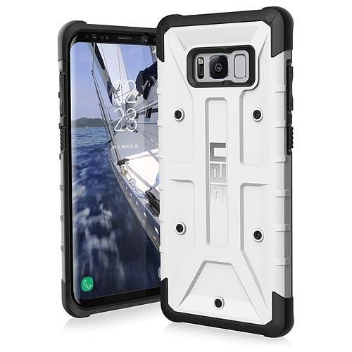 【美國代購】UAG 三星Galaxy S8 + Monarch Feather-Light 軍用摔落測試 手機殼  白黑