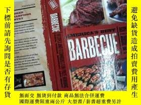 二手書博民逛書店BARBECUE罕見RECIPES AND TECHNIQUES FOR PRIZE-WINNING (內有破損)