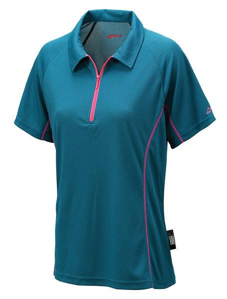╭OUTDOOR NICE╮意都美LITUME 女款POLARTEC POWER DRY排汗休閒衫 湖水藍 PS011S 排汗衣