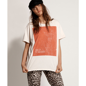ONETEASPOON WW RED TEE SHIRT BOYFRIEND TEE T恤