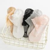 5雙|襪子淺口短筒船襪蕾絲襪女薄款絲襪純棉底短襪隱形【聚寶屋】