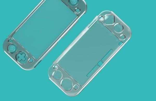 switch Lite主機水晶殼switchmini透明保護殼防摔防滑殼TNS-19071