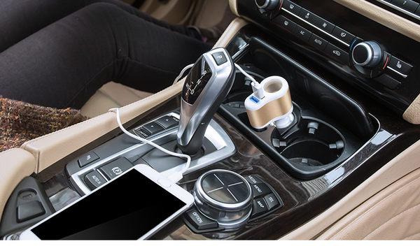 3合1車充(點菸器.雙USB)