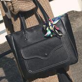 側背包 單肩新款潮女士大容量簡約時尚托特手提包百搭 YY5696『東京衣社』