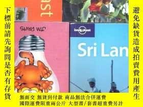 二手書博民逛書店英語斯里蘭卡旅遊指南罕見Sri Lanka  lonely pl