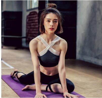 夏季女生瑜伽運動健身文胸內衣YYY689『毛菇小象』