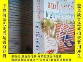 二手書博民逛書店the罕見high tide club(高潮俱樂部)英文原版Y1