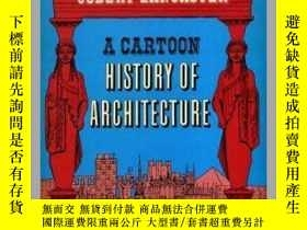二手書博民逛書店A罕見Cartoon History of Architectu
