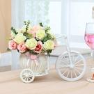 花束 假花仿真花車家居臥室客廳盆栽酒櫃桌面茶幾餐桌花藝裝飾擺件花