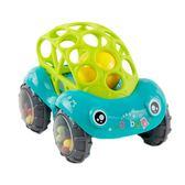 軟膠手搖鈴小汽車6-12個月嬰幼兒益智寶寶0-1-3歲手抓球可咬玩具【週年慶免運八折】