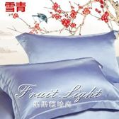 枕頭套 冰絲美容真絲枕套單人蠶絲枕頭套真絲枕巾純色絲綢枕芯套一對 果果輕時尚