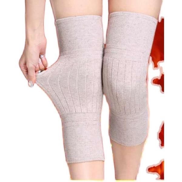 加厚羊毛絨護膝蓋護套老寒腿男女士內穿護關節老年人專用膝蓋保暖 夢幻小鎮