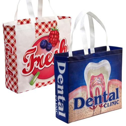 [客製化]  環保袋 全彩環保不織布袋 37x35cm (側邊無車縫) S1-32011A