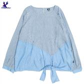 【三折特賣】American Bluedeer - 打結條紋衣 秋冬新款