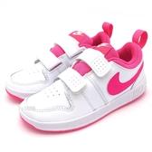 《7+1童鞋》中童 NIKE NIKE PICO 5 (PSV) AR4161-102 輕量 運動 板鞋 休閒鞋 G820 粉色
