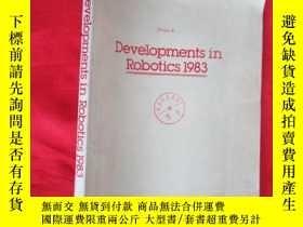 二手書博民逛書店RECENT罕見ADVANCES IN ROBOTICS 1983 (1983年機器人學進展) 16開,英文書
