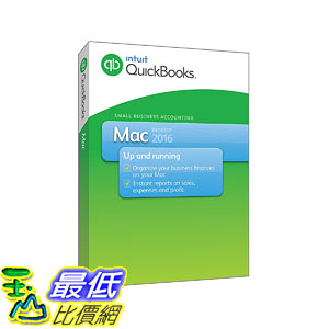 [106美國直購] 2017美國暢銷軟體 QuickBooks Mac 2016 Small Business Accounting Software