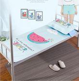 涼席夏季宿舍單人冰絲涼席上下鋪床折疊可水洗卡通席子 mc6601『東京衣社』tw