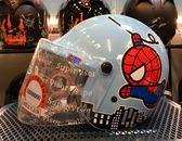 卡通安全帽,兒童安全帽,CA003,CA002,蜘蛛人/水藍