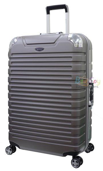 (送旅行袋)萬國通路 雅仕EMINENT 9Q3 25吋 霧面鋁框 PC材質 行李箱  MIT 台灣製 金灰色