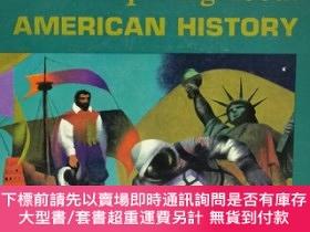 二手書博民逛書店美國歷史知識問答罕見美國中學教材 Inquiring About American History(美國史)英