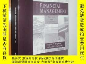 二手書博民逛書店Financial罕見Management Theory and Practice (Eleventh Editi