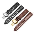 錶帶 鱷魚皮表帶男真皮適用天梭浪琴美度萬國歐米茄積家手表配件女表鏈 【快速】