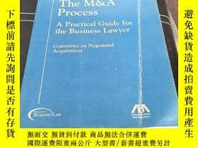 二手書博民逛書店The罕見M&A Process: A Practical Guide For the BusinessLawye