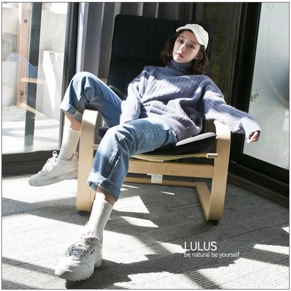 LULUS-Y混色立領坑條針織上衣-2色  現+預【01052911】