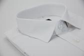 【金‧安德森】白色直紋窄版長袖襯衫
