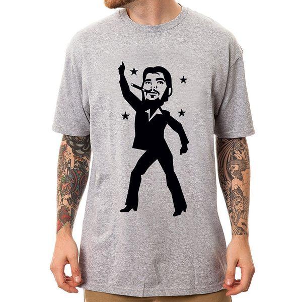 Che-Disco短袖T恤-2色 切 格瓦納 趣味幽默玩翻革命圖案設計潮流人物