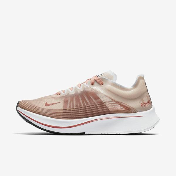 Nike W Nike Zoom Fly SP [AJ8229-200] 女鞋 慢跑 路跑 輕量 避震 舒適 訓練 米白