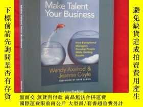 二手書博民逛書店Make罕見Talent Your Business : How