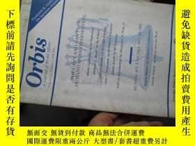 二手書博民逛書店b0041orbis(a罕見journal of world a