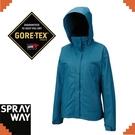 【SPRAYWAY 英國 維納斯 Gore-Tex 兩件式防水100刷毛《藍》】2982/出國旅遊/賞雪/登山
