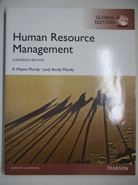 【書寶二手書T8/大學商學_KNM】Human Resource Management_R. Wayne Mondy