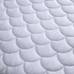 HOLA snow touch涼感三人沙發透氣坐墊53x163cm-冰河藍