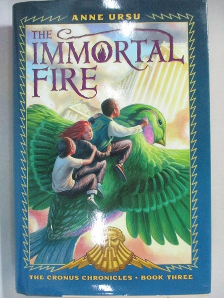 【書寶二手書T6/原文小說_GJK】The Immortal Fire_Ursu, Anne/ Swaab, Neil (ILT)