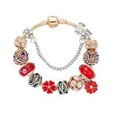 串珠手環-精美閃亮鑲鑽時尚琉璃飾品女配件73kc185【時尚巴黎】